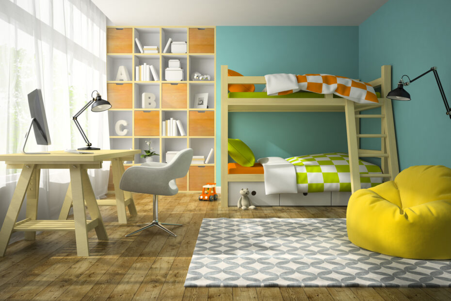 Tips for decorating kids' rooms
