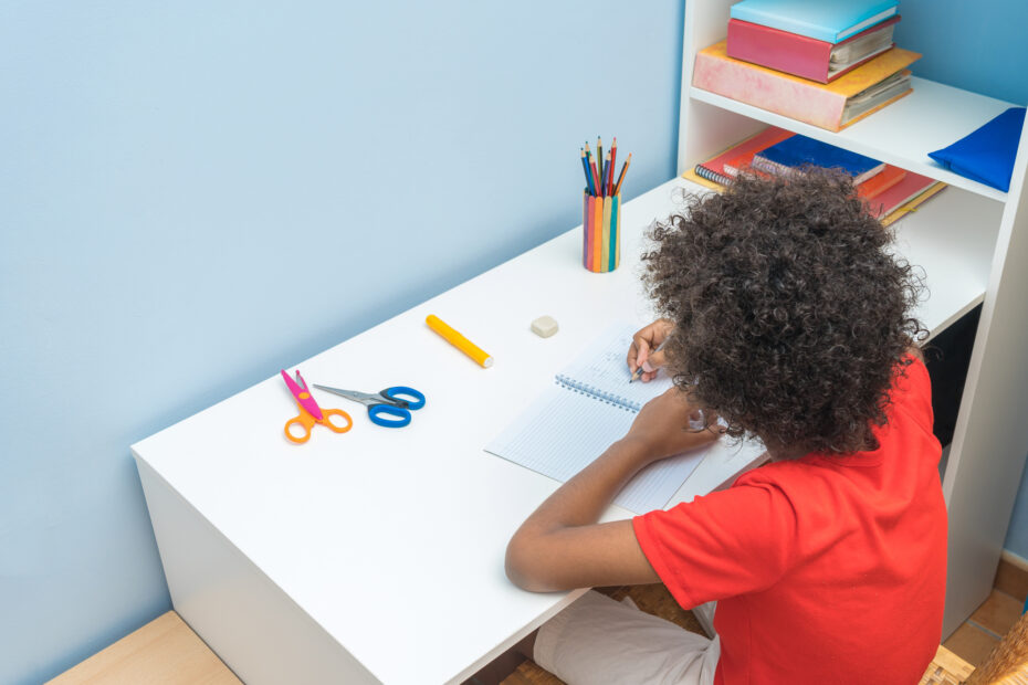 Back to School! How to create a homework space
