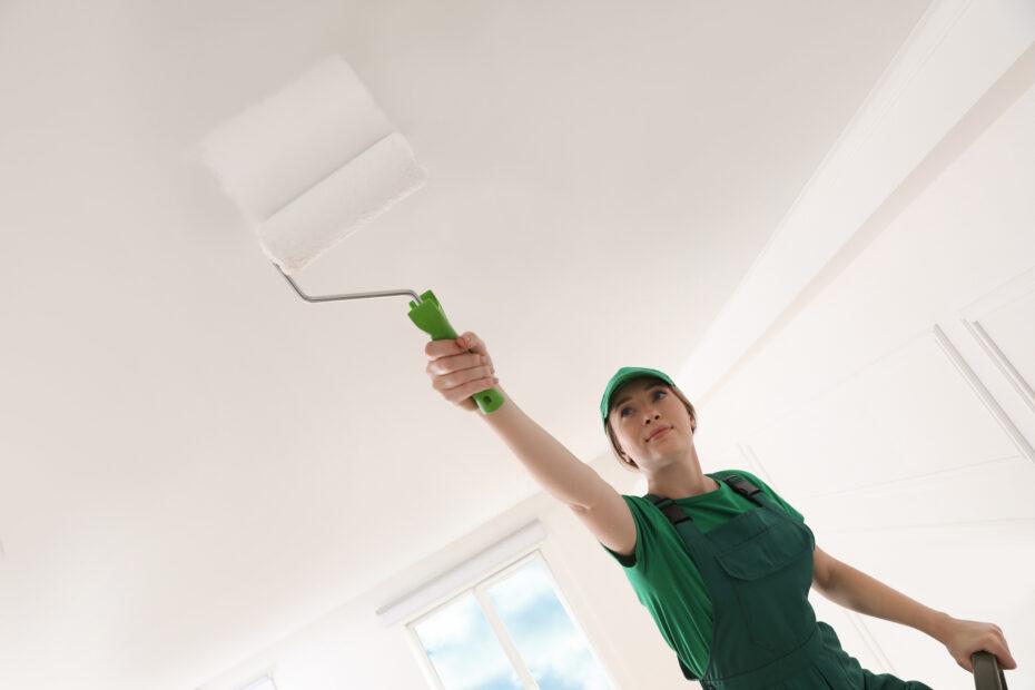 Choosing paint for ceilings
